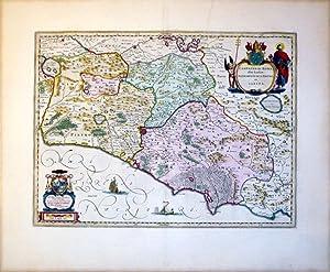 Campagna de Roma olim Latium: Patrimonio Di S. Pietro et Sabina: Willem Blaeu