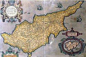 Cypri Insulae Nova Descript. 1573. (Cyprus): Abraham Ortelius
