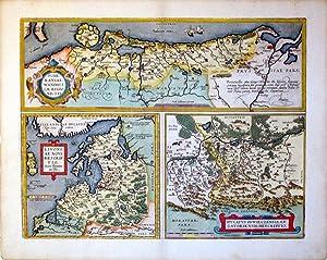 Pomeraniae, Wandalicae Regionis, Typ./Livoniae Nova Descriptio, Joanne Portantio auctore.&#x2F...