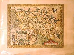 Silesiae Typus (Silesia/Poland): Abraham Ortelius