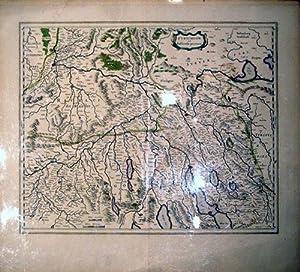 Zurichgow et Basiliensis provincia (Zurich/Basel/Switzerland): Willem Blaeu