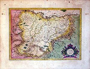 Transylvania (Hungary/Romania): Mercator-Hondius
