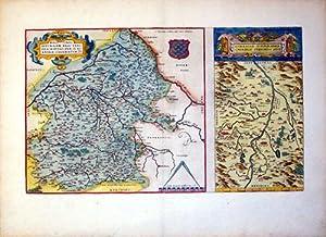 Regionis Biturigum Exactiss Descriptio Per D. Ioannem Calamaeum/Limaniae Topographia Gabriele ...