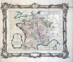 Carte des Conquetes Britanniques en Normandie et en Aquitaine dans le XIIe. Siecle our La France ...
