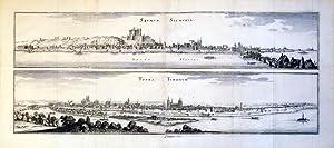 Saumur Salmuria Loire Fluvius/Tours Turonum (France): Casper Meriaen