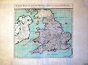A New Map of South Britan(sic) or England and Wales: John Smith