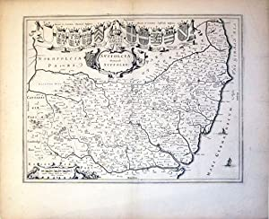 Suffolcia Vernacule Suffolke (Suffolk/England): J. Blaeu