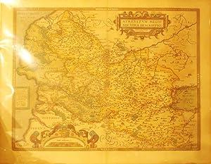 Atrebatum Regionis Vera Descriptio (Artois/France): Abraham Ortelius