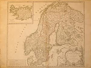 Les Royaumes de Suede et de Norwege divises en leurs Provinces ou Gouvernements/(inset) L&#x27...