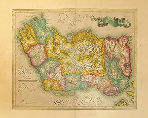 Irlandiae regnum (Ireland): Gerard Mercator