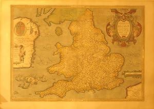Anglia Regnum si quod aliud in toto Oceano ditissimum et florentissimum (England): Abraham Ortelius