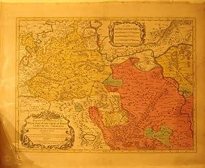 Partie Occidentale Du Palatinat et Eslectorat Du Rhein (Rhineland/Germany): Jaillot