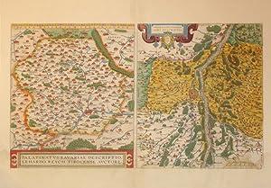 Palatinatus Bavariae Descriptio Erhardo Reych Tirolense Auctore (Bavaria/Tyrol/Germany): ...