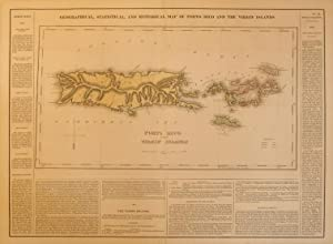 Geographical, Statistical, and Historical Map of Porto Rico and the Virgin Islands: William Kneass