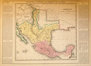 Geographical, Statistical, and Historical Map of Mexico: Young & Delleker