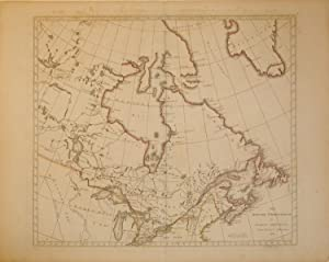 The British Possessions in North America From the Latest Authorities 1814. (Canada/Great Lakes...