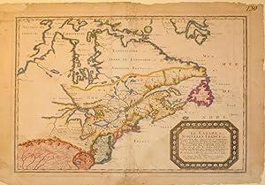 Le Canada, ou Nouvelle France, &c. Ce qui est le plus advance vers le Septentrion est tire de ...