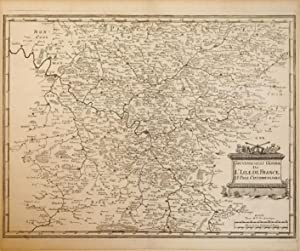 Gouvernement General De L'Isle De France Et Pais Circomvoisins. (France/Paris): Casper ...