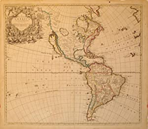 A New Map of America From the latest Observations Revis'd by I. Senex: John Senex