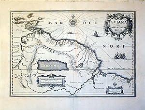 Guiana fiue Amazonia Regio: G. Blaeu