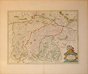 Bavaria Ducatus, Per Ger. Mercatorem. (Germany): Willem Blaeu