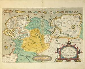 Oost ende West Vrieslandts beschryvinghe Utriusque Frisiorum Regionis Descriptio 1568. (Lowlands): ...