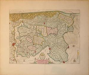 Hollandiae Pars Septentrionalis Vulgo Westuriesland en 'Tnoorder Quartier. (Netherlands): G. &...