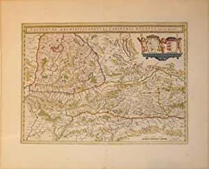 Saltzburg Archiepiscopatus et Carinthia Ducatus, Auct. Ger. Mercatore (Austria): Willem Blaeu
