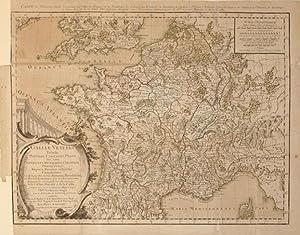 Galliae Veteris Tabula Populos, Civitates, Pagos, nec non Provincias, Municipia. (France): M. Rizzi...