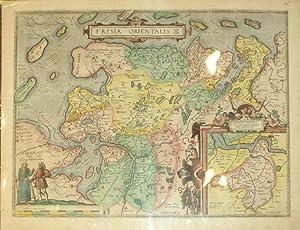 Frisia Orientalis/(inset) Rideriae Portionis (Germany): Abraham Ortelius