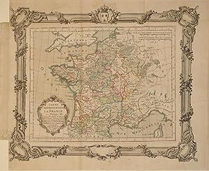 Carte Representant La France sous Philippe III c'est a didre depuis la mort de St. Louis jusqu...