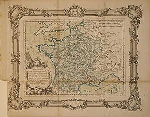La France Renaissante sous le Regne heureux de Louis XV le Bien-Aime. Aggrandie par la reunion des ...