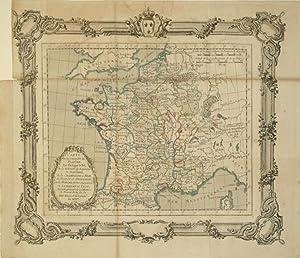 Carte de la Conquete de Flandre Par Phillippe le Bel, de la Reunion du Royaume de Navarre, de la ...