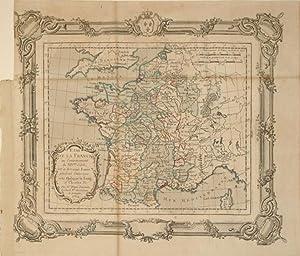 Etat de la France au Commencement du XIVme. Siecle c'est-a-dire sous Louis X pendant l'...
