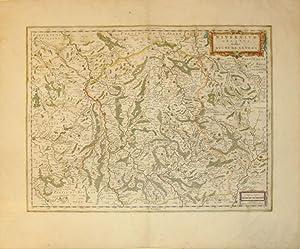 Nivernium Ducatus Gallice Duche de Nevers (France/Nevers): J. Blaeu