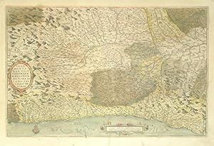 Pedemontanae Vicinorumque Regionum Auctore Iacobo Castaldo Descrip. (Italy/Piedmont Region): ...