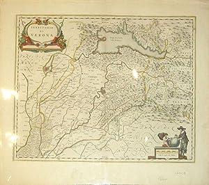 Territorio di Verona (Italy/Verona): J. Blaeu