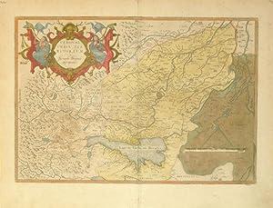 Veronae Urbis Territorium, a Bernardo Brognolo descriptum. (Italy/Verona): Abraham Ortelius