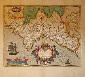 Valentiae Regni olim Contestanorum Si Ptolemaeo, Edetanorum Si Plinio Credimus Typus. (Spain/...