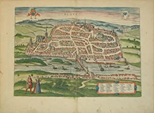 Bloys (Blois/France): Georg Braun & Frans Hogenberg