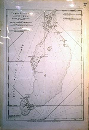 Turks Islands From a Survey made in 1753 by the Sloops l'Aigle and l'Emeraude, By Order ...