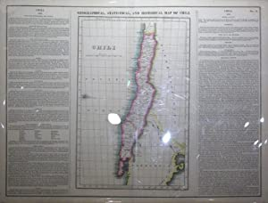 Geographical, Statistical, and Historical Map of Chili: Young & Delleker