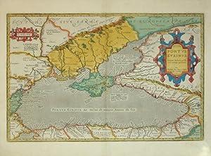 Pontus Euxinus. (Black Sea): Abraham Ortelius
