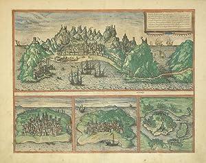 Aden./Mombaza/Quiloa/Cefala (Aden/African Harbors): Georg Braun & Frans ...