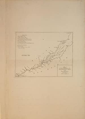 A Map of the Several Dispositions of the English Fleet & Army on the River St. Laurence, to the...