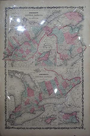 Johnson's Lower Canada/Johnson's Upper Canada: A. J. Johnson