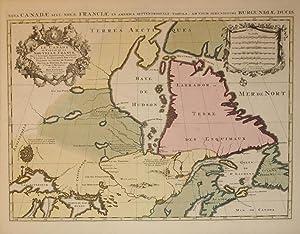 Le Canada ou Partie de la Nouvelle France Dans l'Amerique Septentrionale, Contenant la Terre ...