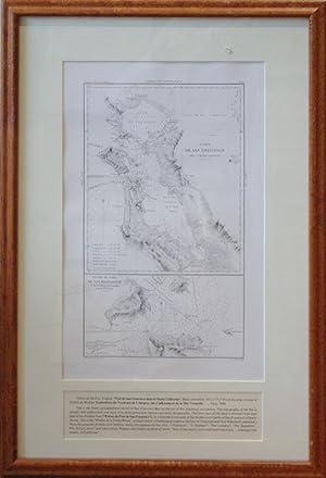 Port of San Francisco Dans La Haute Californie/Entree Du Port de San Francisco et des ...