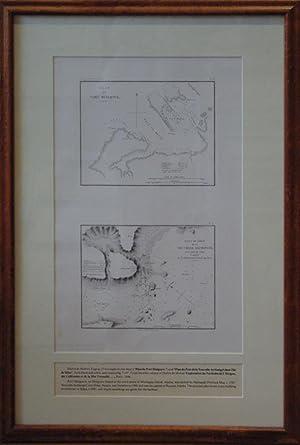 Plan du Port Mulgrave/Plan du Port de la Nouvelle Archangel dans l'Isle de Sitka Capitale...