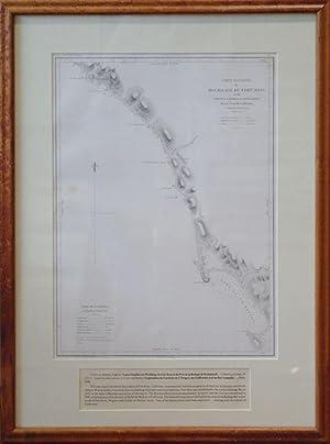 Carte Detaillee du Mouillage du Fort Ross et du Port de la Bodega ou Romanzoff dans la Nouvelle ...